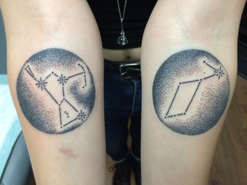 Orion Tattoo On a forearm