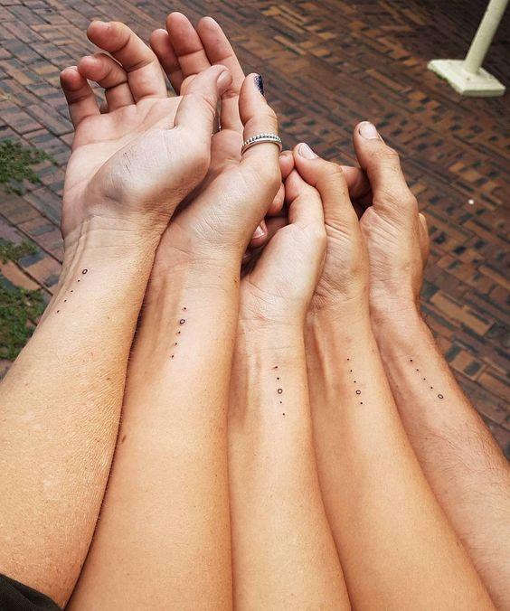 Family Tattoo Ideas 30 Best Matching Tattoo Designs