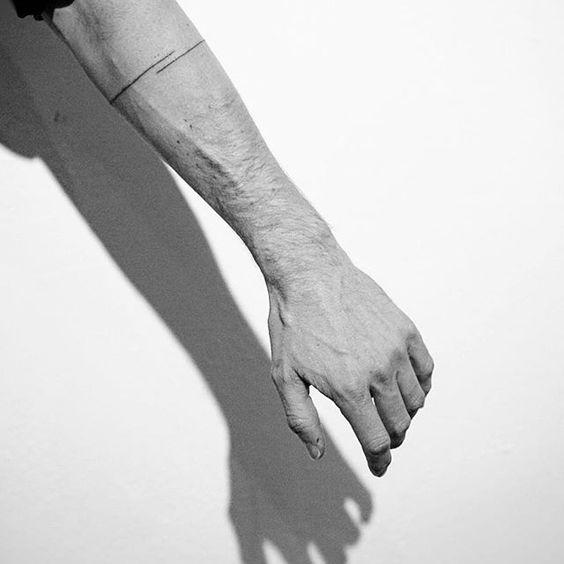 Hand Poke Tattoo By Spencer Hansen.