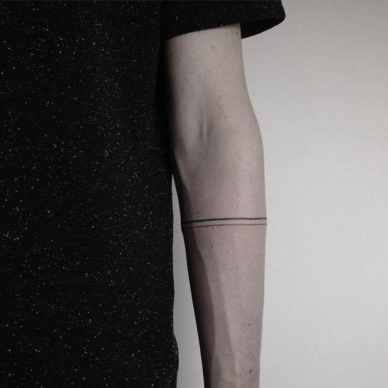 Minimal Armband Tattoo