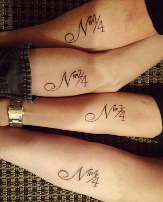 Sibling arm tattoo idea