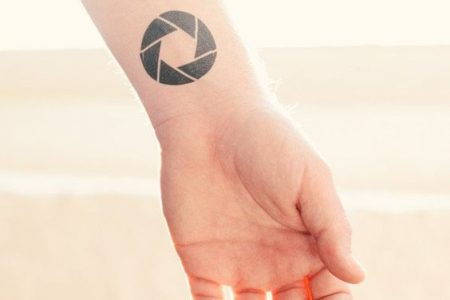 Aperture Tattoo: an Awesome Tattoo Design For Photographers