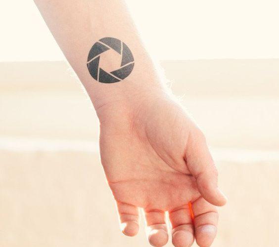 Aperture tattoo
