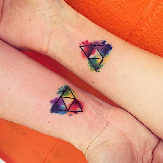 Triforce Tattoo 34 Most Beautiful Ideas Of Triangle From Legend Of