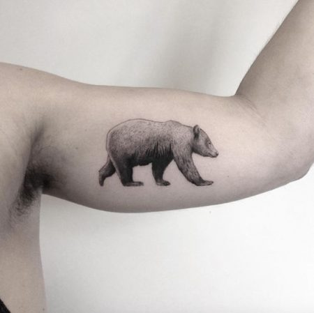 Bear Tattoo: 45 Most Amazing Bear Tattoo Ideas You Have To See