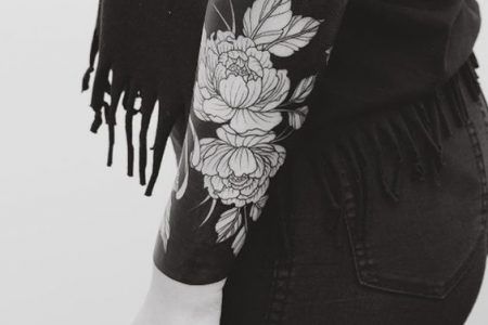 Negative Space Tattoo: Discover 50 Most Amazing Black and White Tattoos