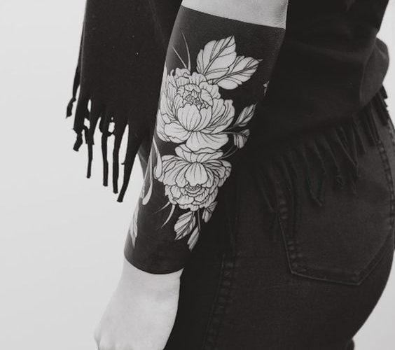 Negative Space Tattoo Discover 50 Most Amazing Black And White Tattoos