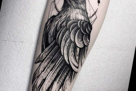 Raven Tattoo: 30 Images That Will Prove This Bird Is Way Cooler Than You Think