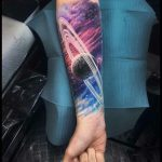 Saturn Tattoo: 42 Best Examples of This Majestic Planet You Will Definitely Love