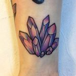 Crystal Tattoo: 42 Timeless Gemstone Tattoo Ideas That Attract Good Luck