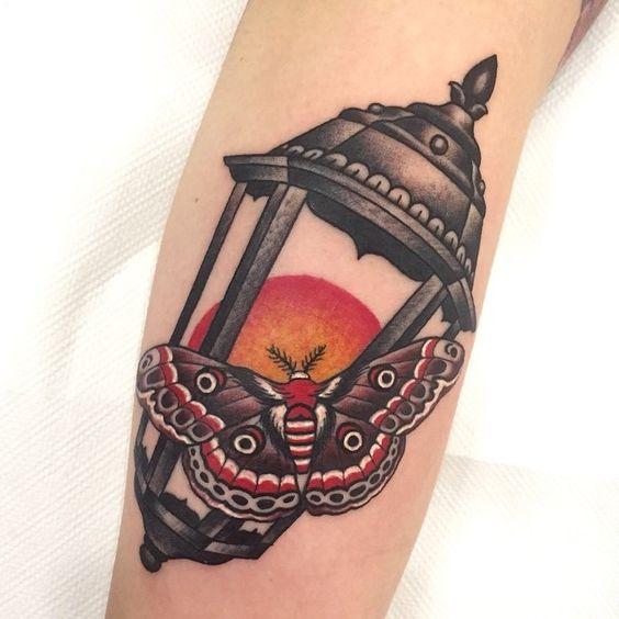 Lantern Tattoo These 42 Lantern Tattoo Ideas Will Light