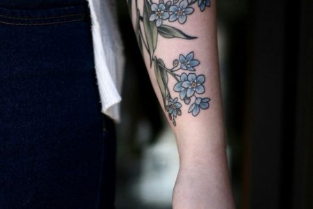 Forget Me Not Tattoo Meaning And Most Beautiful Ideas For Inspiration