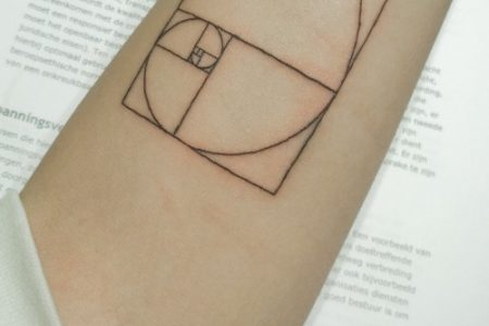 Golden Ratio Tattoo: 30 Ideas Of The Most Mystical Symbol In Our Universe