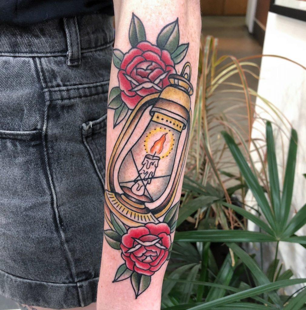 Lantern Tattoo These 42 Lantern Tattoo Ideas Will Light Up Your Life