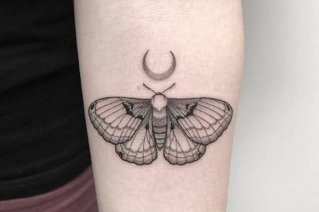 Moth Tattoo Ideas And Meanings: These 65 Tattoos Will Blow Your Mind