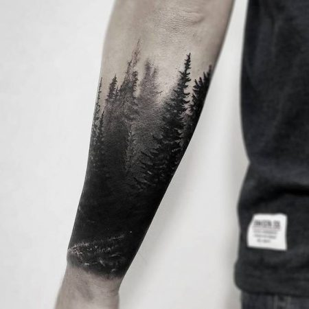 Forest Tattoo Ideas For People Who Care About Nature