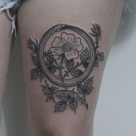 Ouroboros Tattoo Design: Ouroboros Tattoo: The Symbol Of Eternity And Continuity