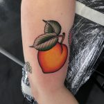Peach Tattoo Ideas To Celebrate The National Eat A Peach Day