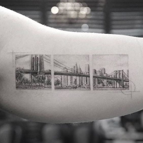Brooklyn bridge tattoo