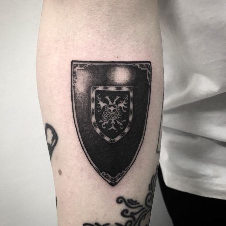 Shield Tattoo Ideas That Will Make You Feel Safer ⛨