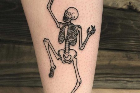 Skeleton Tattoo Ideas That Will Make You Feel Fragile ☠