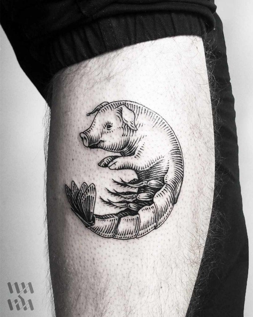 Shrig tattoo by warda